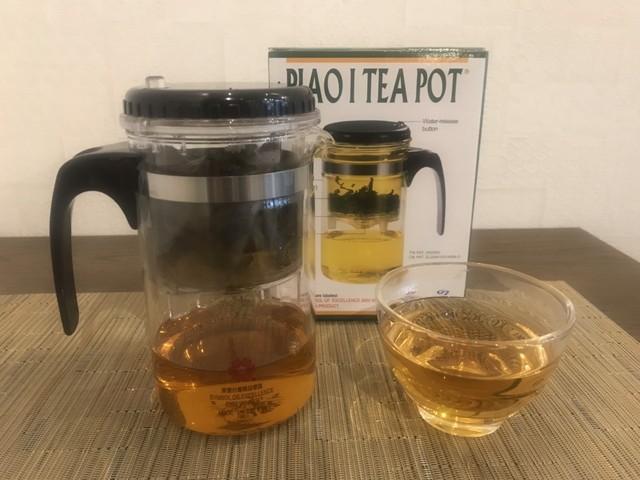 台湾茶に最適です! 濃くなり過ぎない ティーポット