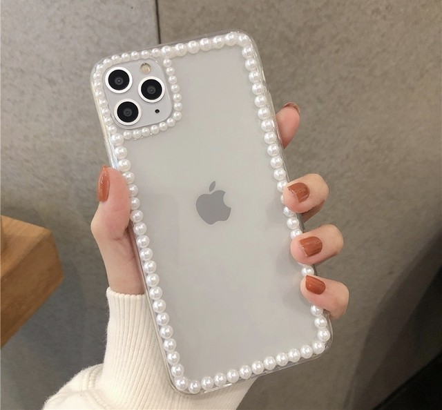 simple pearl iPhone case