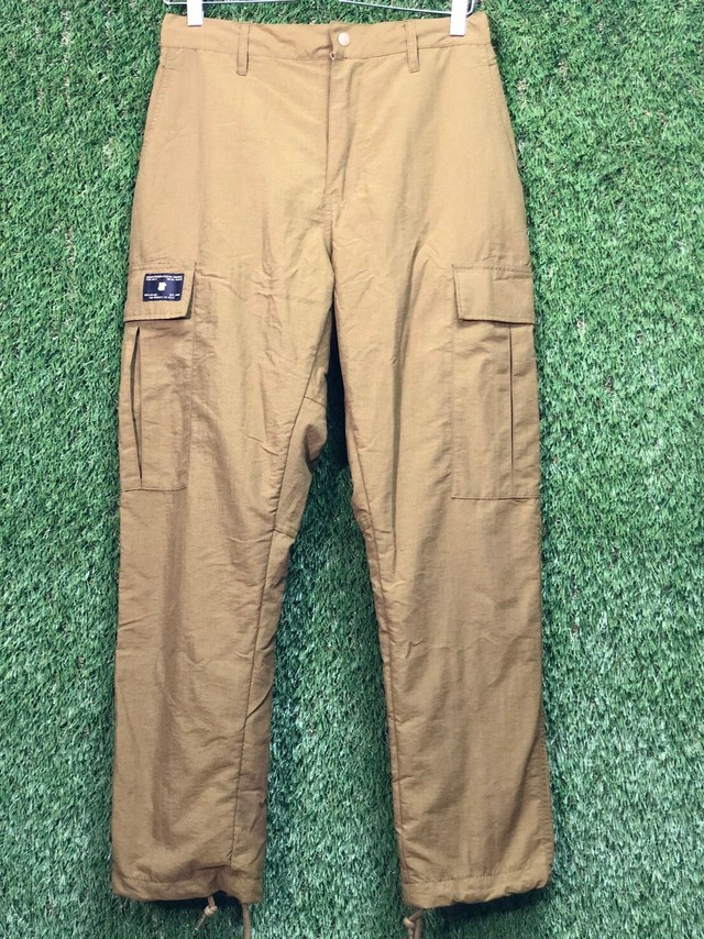 UNDEFEATED 20SS CARGO PANT SMALL  KHAKI 20JH7791