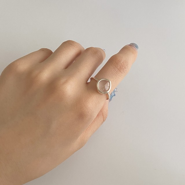 〈6/15頃再入荷予定〉ocean necklace / ring / pierce set(silver925)