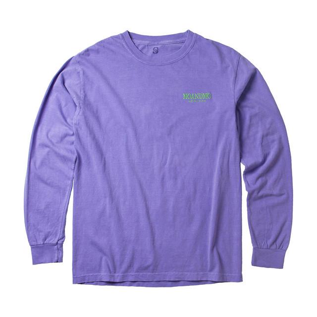 MOANDMO L/S Map Tee / Purple