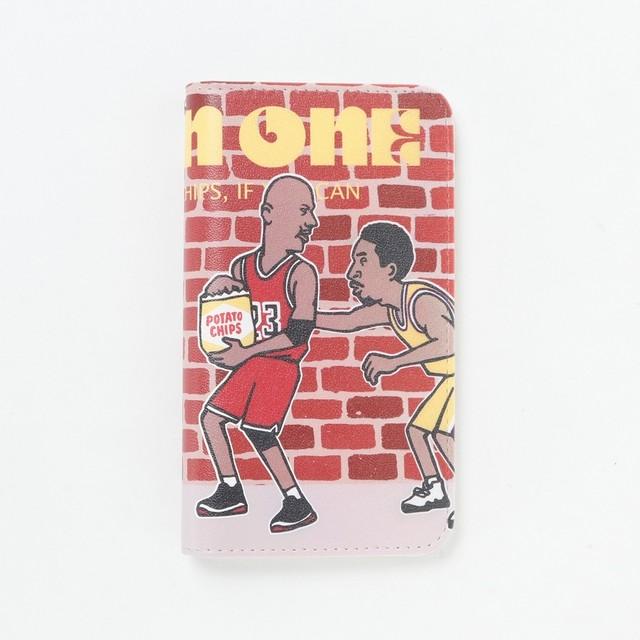 soccerjunky(サッカージャンキー)/One or One? 手帳型スマホケース