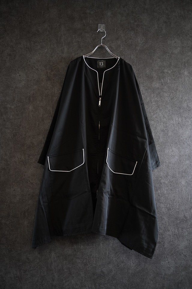 room.13 Zip-Up Poncho