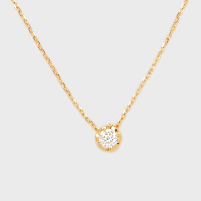 ENUOVE NOTTE Diamond Necklace K18YG (イノーヴェ ノッテ 0.25ct ダイヤモンドネックレス K18イエローゴールド スライドアジャスターチェーン)