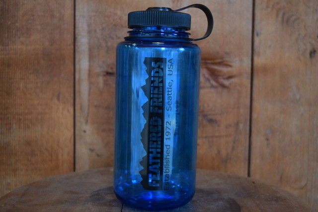 新品 FEATHERED FRIENDS Nalgene Bottle 1L 32oz made in USA G0180