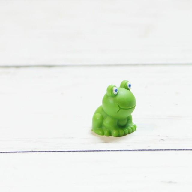 カエル 蛙 ミニチュア ジオラマ 動物模型 苔テラリウム おもちゃ フィギュア