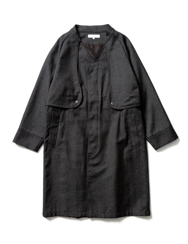 Sasquatchfabrix. / VENTILATION WESTERN COAT(BLACK)