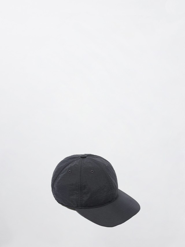 OUR LEGACY BALL CAP DARK NAVY RELIC NYLON A2218BP