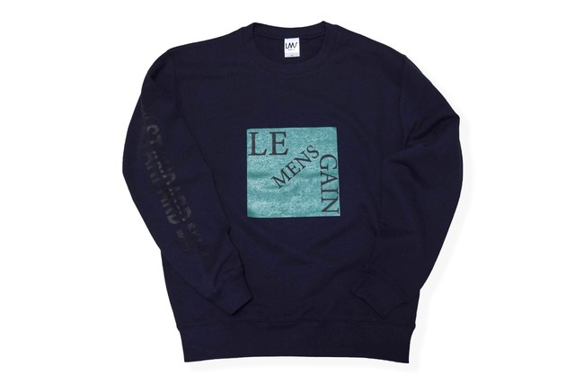 front square sweat / navy