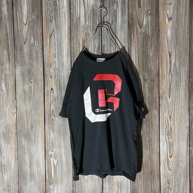 [Champion]big C design T  shirt