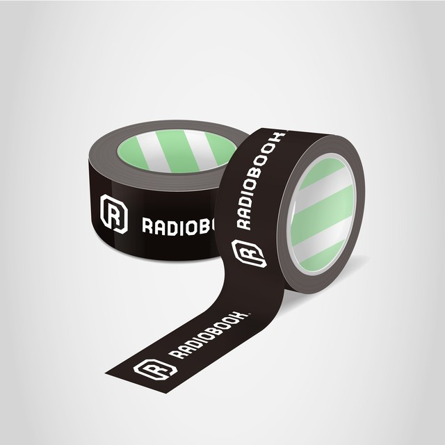 RADIOBOOKオリジナルロゴクラフトテープ