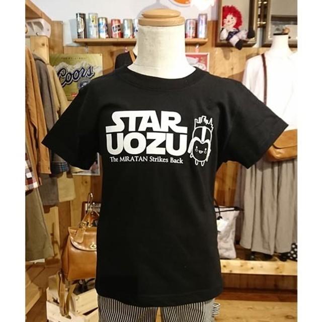 "STAR UOZU & ミラたん コラボ""KIDS""Tシャツ"