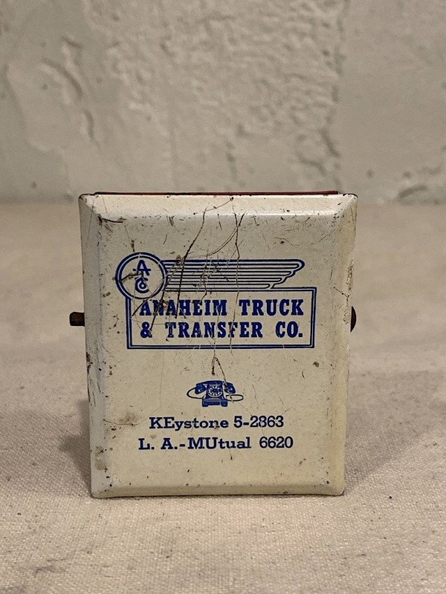 "ADVERTISING MEMO CLIP "" ANAHEIM TRUCK & TRANSFER CO. """
