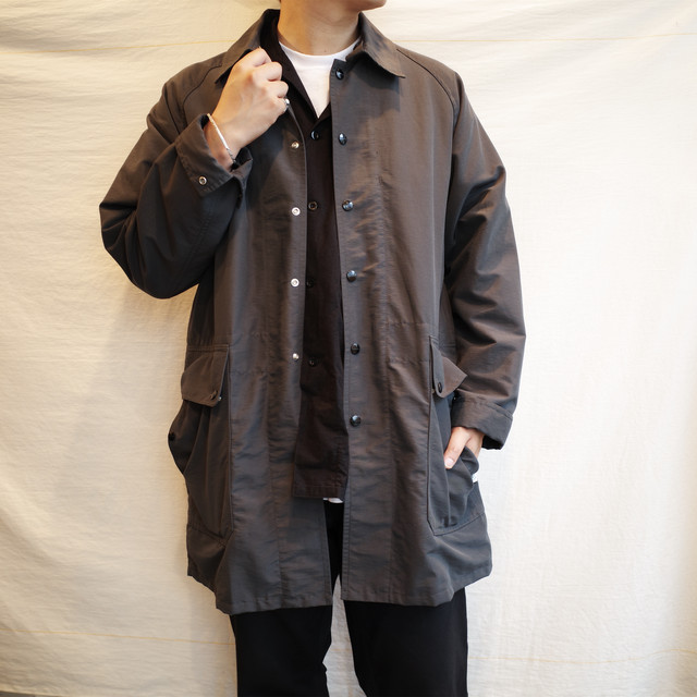 SASSAFRAS(ササフラス) / Fall Leaf Coat +  -Charcoal-