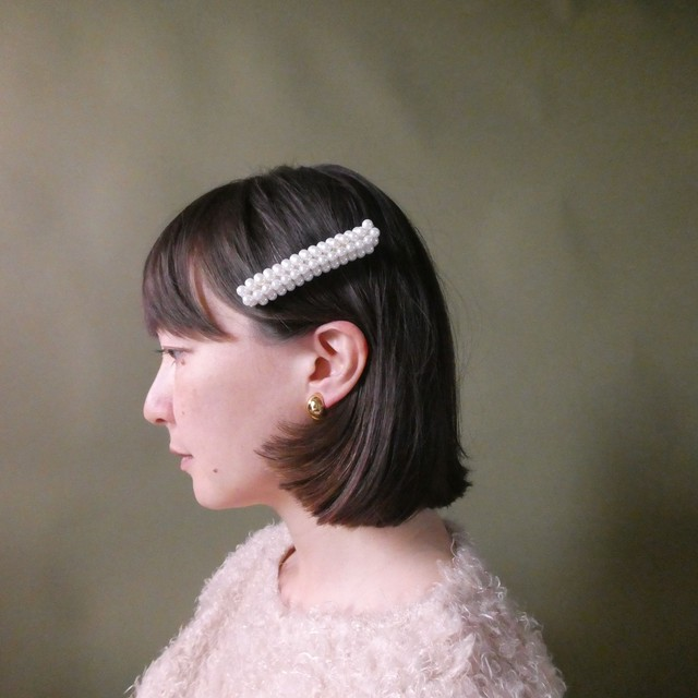 the knit + vintage collection 4 the pearl hair clip edition 6