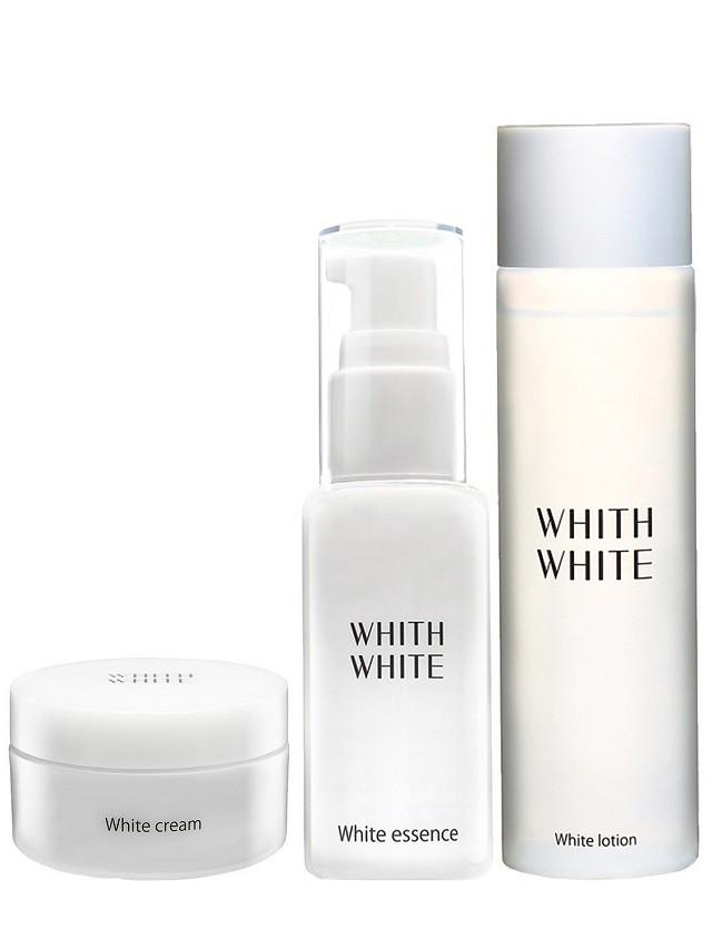 WHITH WHITE 美白 化粧水 & 美容液 & クリームセット 200ml & 50ml & 50g