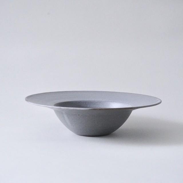 児玉修治 / スープリム皿 灰