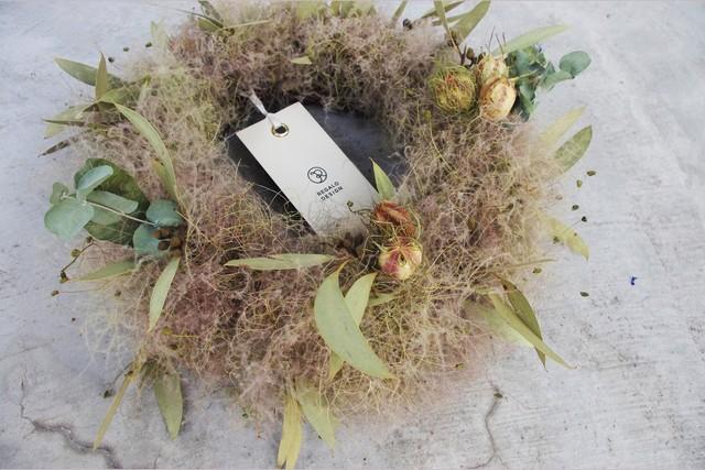 Smoketree wreathe