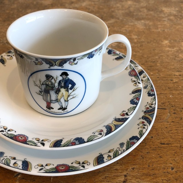 Rorstrand Cup&Saucer&Plate【ANGERMANLAND】