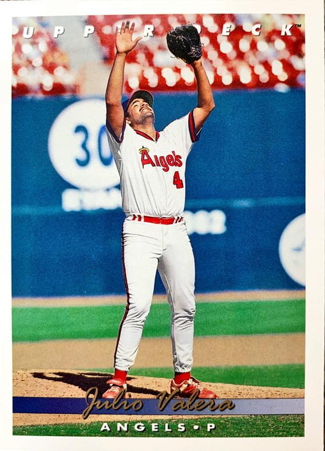 MLBカード 93UPPERDECK Julio Valera #343 ANGELS