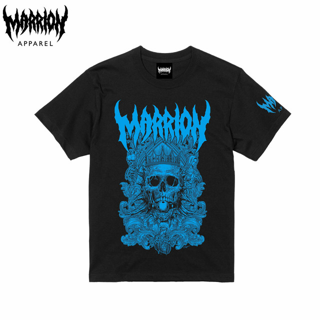 DEATH MARRION TEE 2019 (Black×Blue)