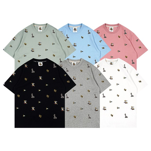 【GRAF】天使総柄刺繍Tシャツ