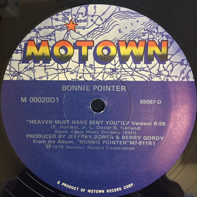 Bonnie Pointer ‎– Heaven Must Have Sent You