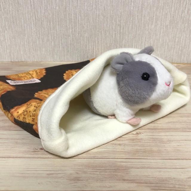 もるちゃんのぽっこり寝袋