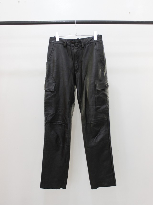 Used Leather military pants