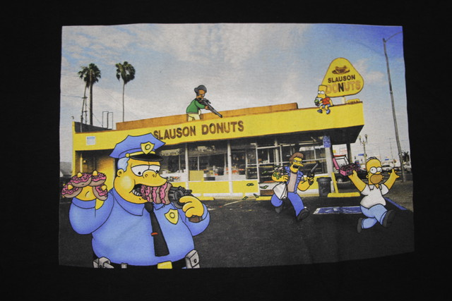 the marathon clothing × simpsons T shirts