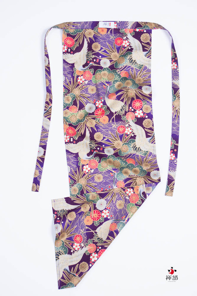 JAPANESE CRANE FLOWER ( vivid purple )