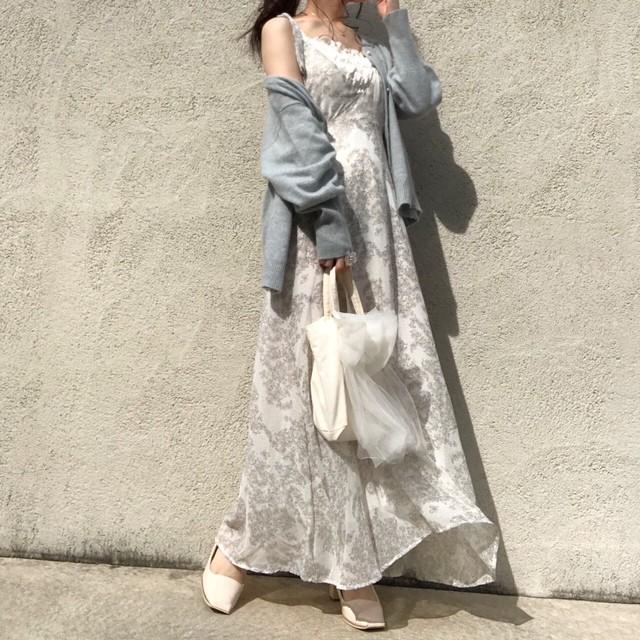 floral dress[729-16]