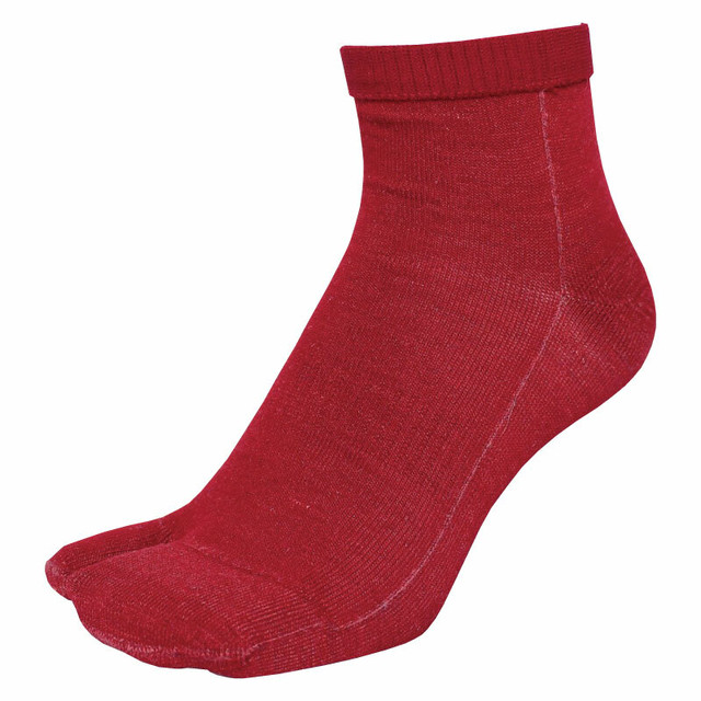 【Inner-Fact】Tabi Short Socks Short (Deep Red)数量限定品