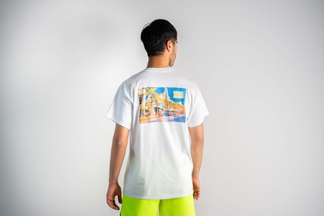 "FUKUTSU STORE ""Day time"" S/S TEE"