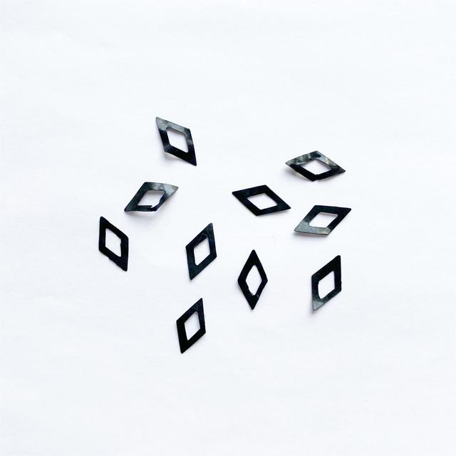 スパンコール(ブラック ダイヤ)10p
