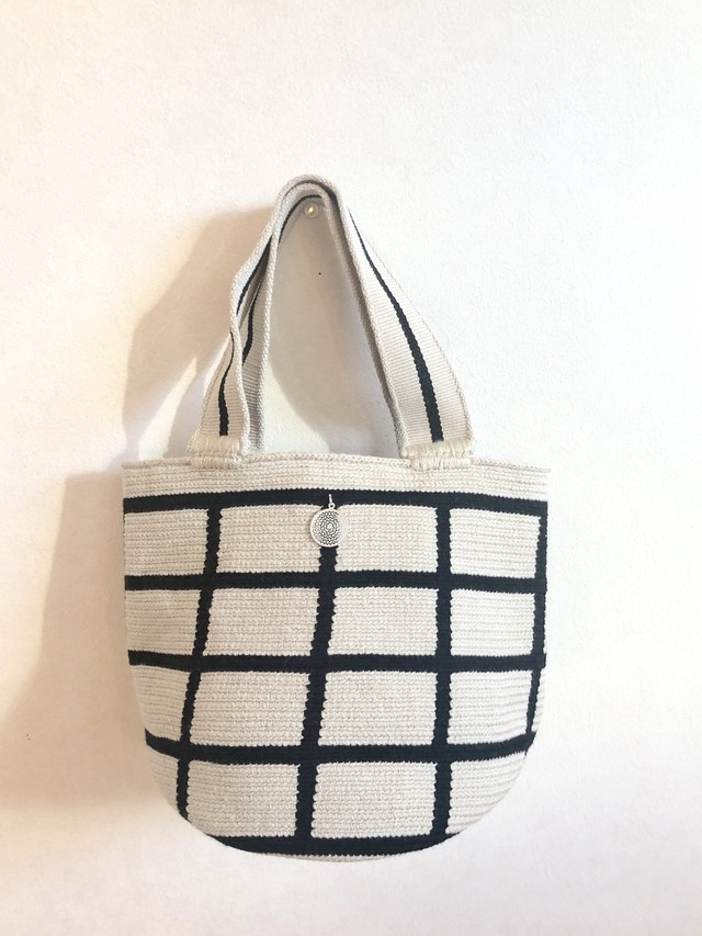 ワユーバッグ (Wayuu bag) Basic line Mini Tote Zigzag