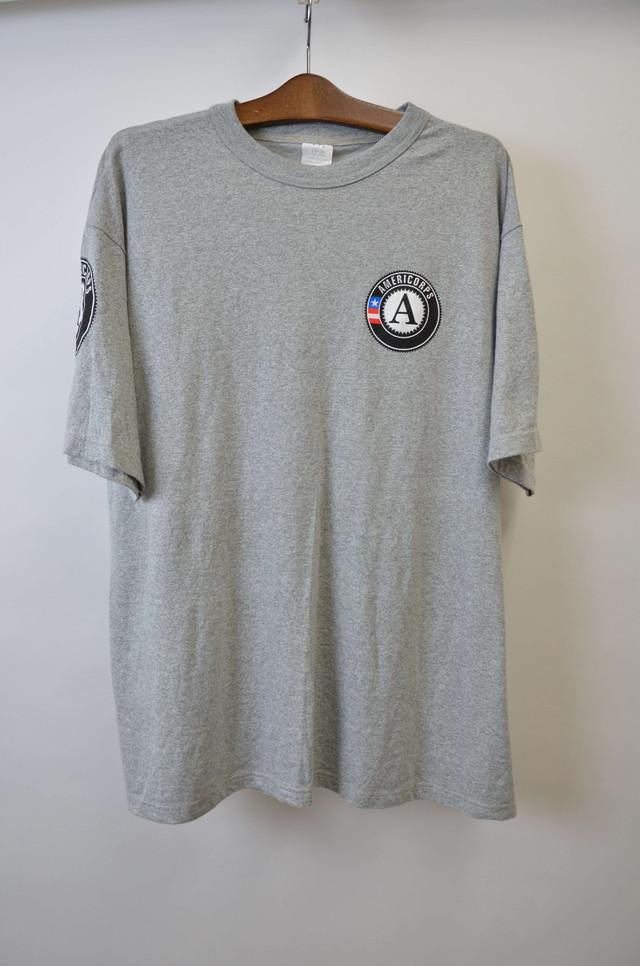 【Lサイズ】 AMERICORPS TEE 半袖Tシャツ GRAY グレー 400601190780