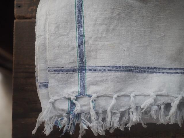 khadi cotton mix color kitchen towel
