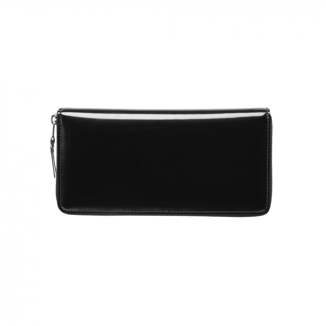 WALLET COMME des GARCONS【ウォレットコムデギャルソン】Mirror Inside Long Wallet  (Silver)