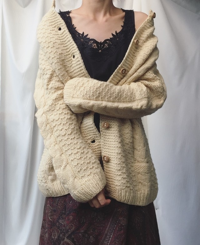 vintage knit outer