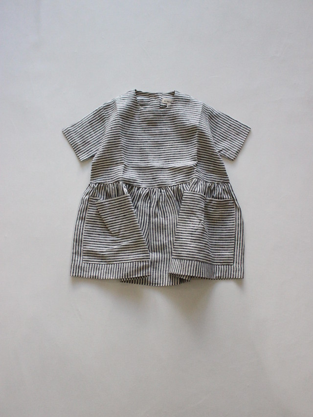 AS WE GROW  Pocket dress  stripe