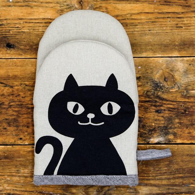 猫ミトン鍋つかみ(ネコマンジュウ)