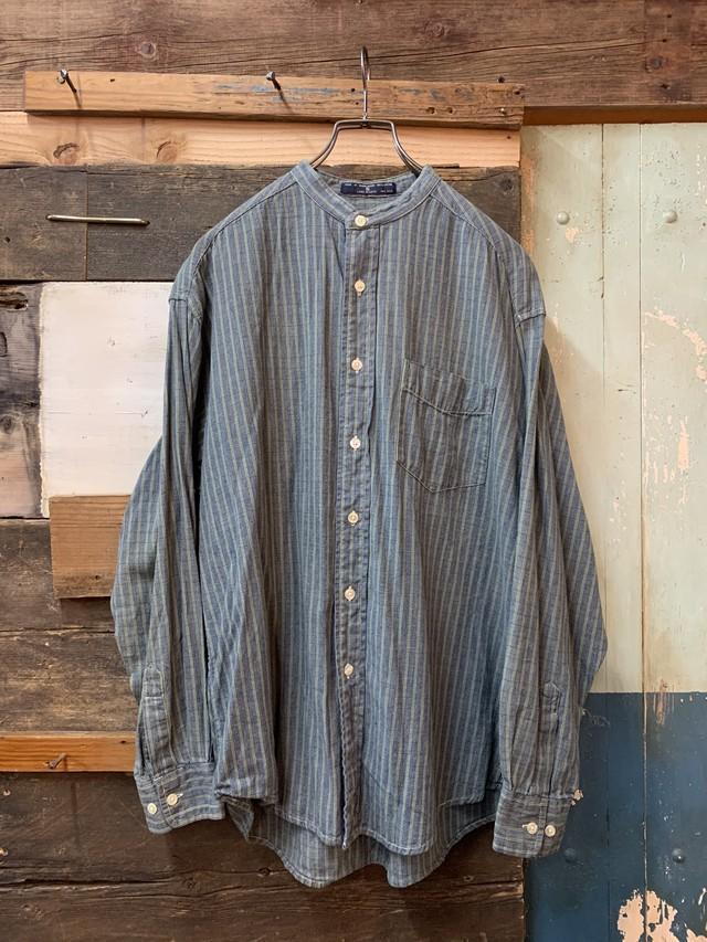 90's dockers collarless shirt