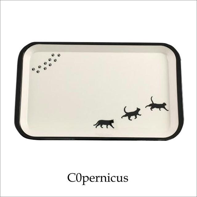 ネコトレイ【猫キッチン雑貨】 ネコ雑貨 猫アイテムA/浜松雑貨屋C0pernicus