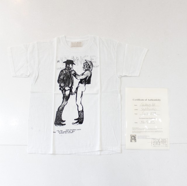 【seditionaries】 cowboys tee
