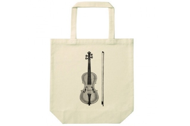 バイオリンのトートバッグ