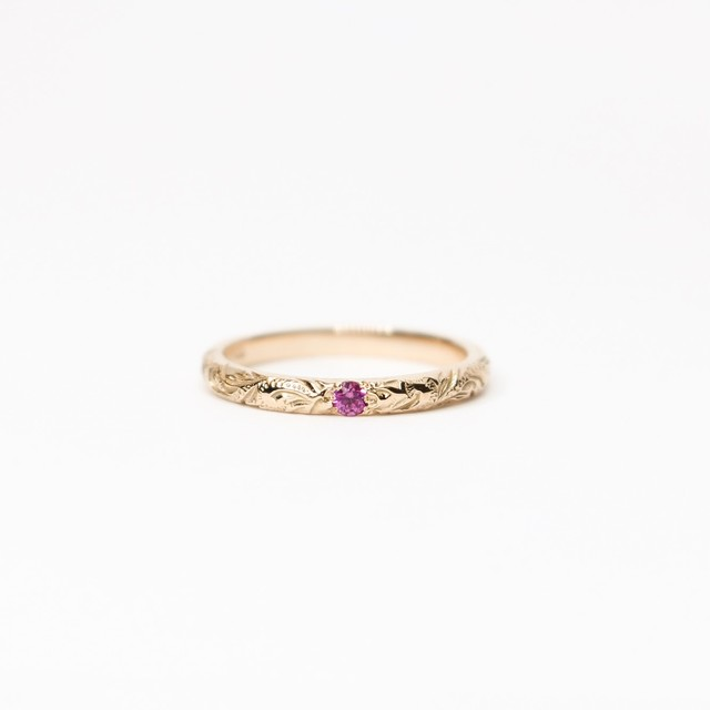 BEST SELLER | TINY RUBY RING
