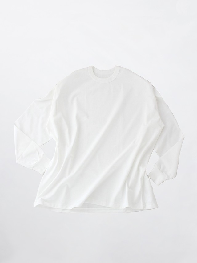 MAISON EUREKA Giza Cotton L/S Pack Tee White 081