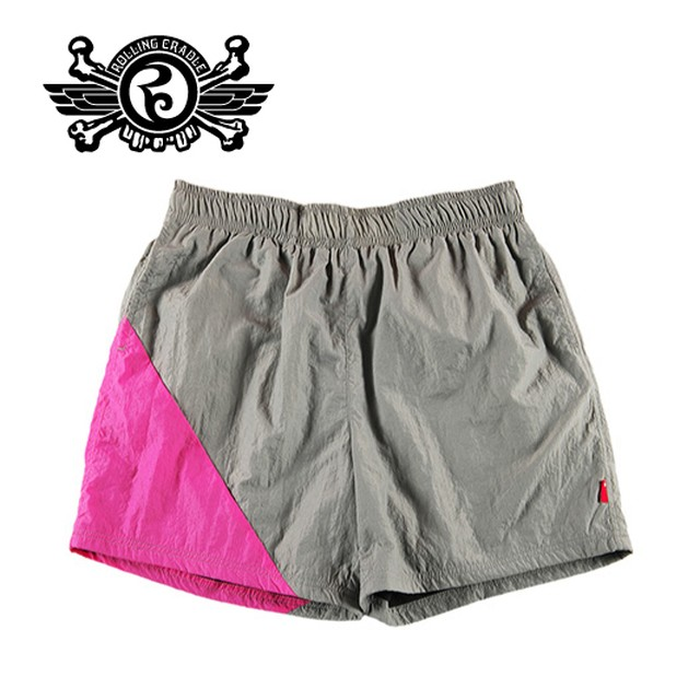 ROLLING CRADLE (ロリクレ) | RC NYLON SHORTS (Gray)