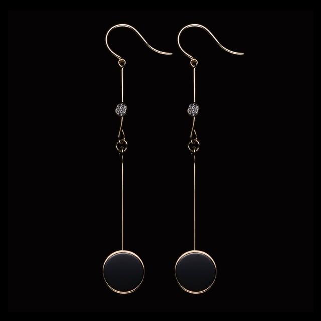 jg <Nuance>  ピアス K18/ダイヤモンド/ブラックオニキス